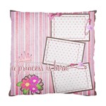 cushion case - 2 sides - my baby s firsts... - Standard Cushion Case (Two Sides)