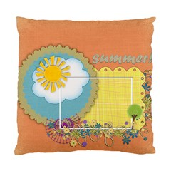 Cushion Case   2 Sides   Fun! Fun! Summer! By Angel   Standard Cushion Case (two Sides)   S3h7ss93e2yx   Www Artscow Com Front