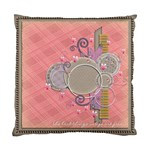 cushion case - 2 sides - beautiful... - Standard Cushion Case (Two Sides)