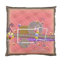 Cushion Case   2 Sides   Beautiful    By Angel   Standard Cushion Case (two Sides)   Dbfb3fvqng76   Www Artscow Com Back