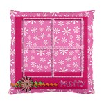 cushion case - 2 sides - flower faith - Standard Cushion Case (Two Sides)