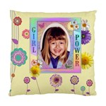 Girl Power 2-Sided Cushion Case - Standard Cushion Case (Two Sides)