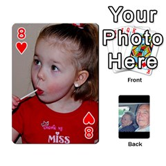 Grents Cards By Laura   Playing Cards 54 Designs   U9qd1m6neagz   Www Artscow Com Front - Heart8