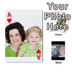 Ace Grents Cards By Laura   Playing Cards 54 Designs   U9qd1m6neagz   Www Artscow Com Front - HeartA