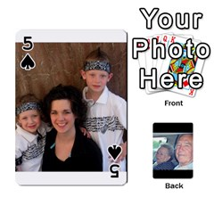 Grents Cards By Laura   Playing Cards 54 Designs   U9qd1m6neagz   Www Artscow Com Front - Spade5