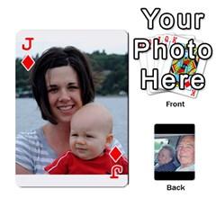 Jack Grents Cards By Laura   Playing Cards 54 Designs   U9qd1m6neagz   Www Artscow Com Front - DiamondJ