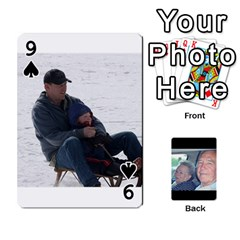Grents Cards By Laura   Playing Cards 54 Designs   U9qd1m6neagz   Www Artscow Com Front - Spade9
