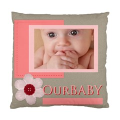 Our Baby By Joely   Standard Cushion Case (two Sides)   0l7jyus3i8v2   Www Artscow Com Front