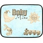 Baby Mine Mini Fleece Blanket - Fleece Blanket (Mini)