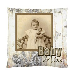 Baby Mine Cute As A Button Double Sided Cushion By Catvinnat   Standard Cushion Case (two Sides)   5ybrr2rkrmh2   Www Artscow Com Front