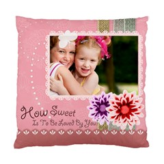 Your Sweet  By Joely   Standard Cushion Case (two Sides)   O2b7z245ht7n   Www Artscow Com Back