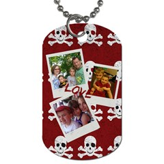 Bray s Second Dog Tags By Randi L  Stanley   Dog Tag (two Sides)   Mtqn33t28jx2   Www Artscow Com Front