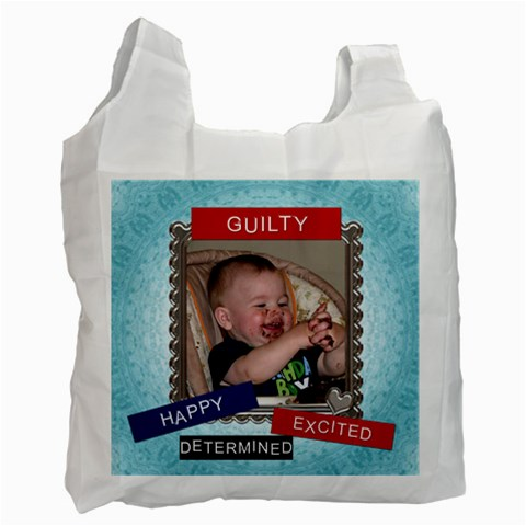 Guilty 1 Sided Recycle Bag By Lil    Recycle Bag (one Side)   Oqvvpya4k7tp   Www Artscow Com Front