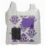 Lavender Flourish - Recycle Bag (One Side)