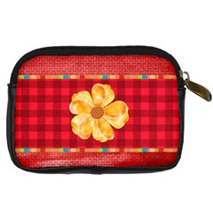 Buttercup Camera Case 1 By Lisa Minor   Digital Camera Leather Case   Auquckkj8m6y   Www Artscow Com Back