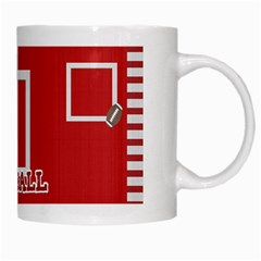Touchdown (black And Red) Mug 2 By Chelsea Winsor   White Mug   Dh760o6p1359   Www Artscow Com Right