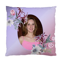 Pink And Mauve Romance Double Sided Cushion Case By Deborah   Standard Cushion Case (two Sides)   O5y8g6lvtbrk   Www Artscow Com Front