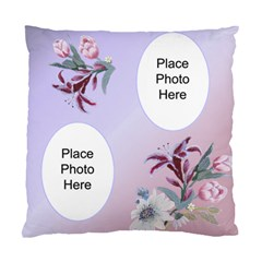 Pink And Mauve Romance Double Sided Cushion Case By Deborah   Standard Cushion Case (two Sides)   O5y8g6lvtbrk   Www Artscow Com Back