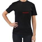 salsalika - Women s T-Shirt (Black) (Two Sided)