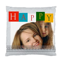 Happy Time By Wood Johnson   Standard Cushion Case (two Sides)   Ovuz6wz8lz68   Www Artscow Com Front