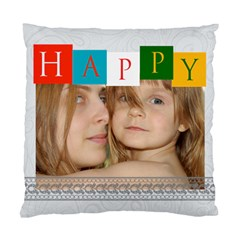 Happy Time By Wood Johnson   Standard Cushion Case (two Sides)   Ovuz6wz8lz68   Www Artscow Com Back