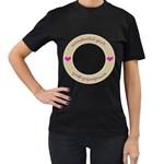 Wonderful girl t-shirt - Women s T-Shirt (Black)