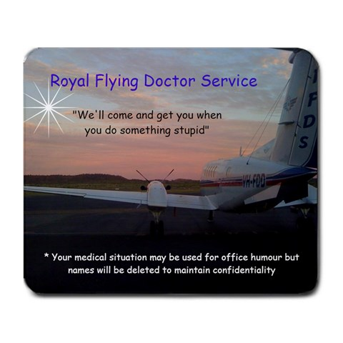 Rfds By Rachael Moulden   Large Mousepad   Uqohnba7w4mx   Www Artscow Com Front
