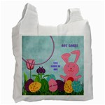 Some Bunny Loves You Bag - Recycle Bag (One Side)