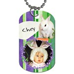 2 sided Easter Basket Dogtag - Dog Tag (Two Sides)