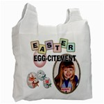 Easter Egg-Citement #2 Recycle Bag - Recycle Bag (One Side)