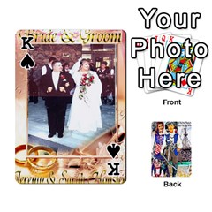King Ashleigh & Raul Quiroz Family s Cards By Pamela Sue Goforth   Playing Cards 54 Designs   Xe0yknn84jma   Www Artscow Com Front - SpadeK
