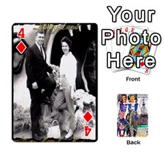 Ashleigh & Raul Quiroz Family s Cards By Pamela Sue Goforth   Playing Cards 54 Designs   Xe0yknn84jma   Www Artscow Com Front - Diamond4