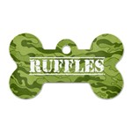 Camouflage Dog Tag - Dog Tag Bone (Two Sides)