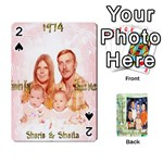 Scott Reed & Shannon Son s Brian, Dylan, Kaleb, Family s Cards - Playing Cards 54 Designs