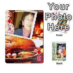Scott Reed & Shannon Son s Brian, Dylan, Kaleb, Family s Cards By Pamela Sue Goforth   Playing Cards 54 Designs   Xyrdnikym72o   Www Artscow Com Front - Diamond3