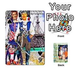 Scott Reed & Shannon Son s Brian, Dylan, Kaleb, Family s Cards By Pamela Sue Goforth   Playing Cards 54 Designs   Xyrdnikym72o   Www Artscow Com Front - Spade6