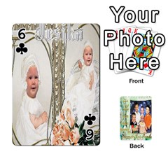 Scott Reed & Shannon Son s Brian, Dylan, Kaleb, Family s Cards By Pamela Sue Goforth   Playing Cards 54 Designs   Xyrdnikym72o   Www Artscow Com Front - Club6