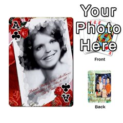 Ace Scott Reed & Shannon Son s Brian, Dylan, Kaleb, Family s Cards By Pamela Sue Goforth   Playing Cards 54 Designs   Xyrdnikym72o   Www Artscow Com Front - ClubA