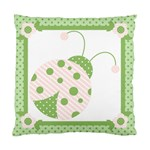 Ladybug Pillow Case-Pink - Standard Cushion Case (Two Sides)