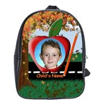 Fall Tree Large School Bag - School Bag (Large)