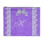 Purple XL cosmetic case - Cosmetic Bag (XL)