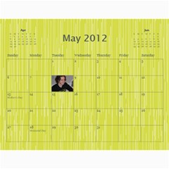 Mama 11 12 By Casey Hastings   Wall Calendar 11  X 8 5  (12 Months)   Rcicsjaz4pzy   Www Artscow Com May 2012