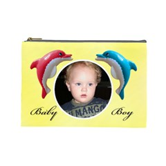 Baby Boy L Cosmetic Bag By Deborah   Cosmetic Bag (large)   S84yvqg2f480   Www Artscow Com Front