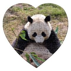 Big Panda Jigsaw Puzzle (heart)