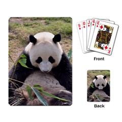 Big Panda Playing Cards Single Design by dropshipcnnet