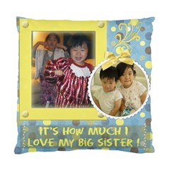 Little Broether By Meggie Tseng   Standard Cushion Case (two Sides)   E19ebxc5t6p5   Www Artscow Com Front
