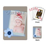 our baby - Playing Cards Single Design