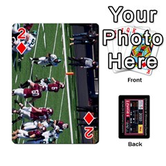 Football Cards By Snackpackgu   Playing Cards 54 Designs   Eyagcbdkb0zh   Www Artscow Com Front - Diamond2