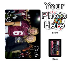 Football Cards By Snackpackgu   Playing Cards 54 Designs   Eyagcbdkb0zh   Www Artscow Com Front - Club4