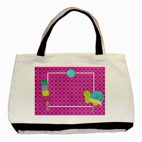 Picadilly Summer Tote 1 By Lisa Minor   Basic Tote Bag   7qtmddp0p9vb   Www Artscow Com Front